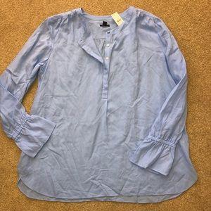 NWT Ann Taylor Beautiful Blouse size Large L $79